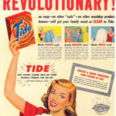 The First Tide Print Ad